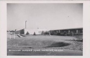 South Dakota Webster Bethesda Nursing Home Real Photo RPPC
