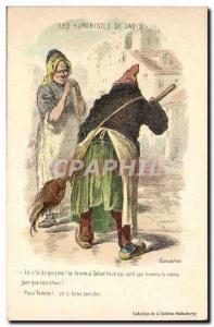 Old Postcard Humor humourists of the formerly Gavarni