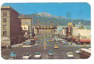 Pikes Peak Avenue, Colorado Springs, Colorado,  PU-1961