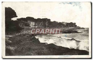 Modern Postcard Carry Le Rouet cove of Tuiliere