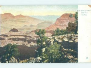 Pre-1907 VIEW FROM THE RIM Grand Canyon National Park Arizona AZ H4192