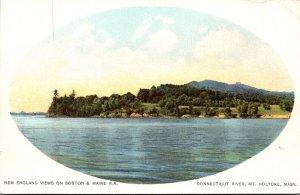 Massachusetts Mount Holyoke View Of Connecticut River