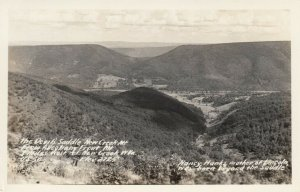 RP: NEW CREEK , West Virginia , 30-40s; The Devils Saddle