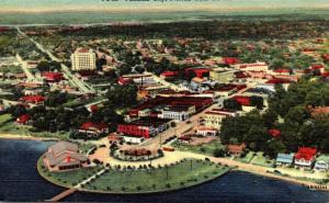 Florida Panama City Aerial VIew Curteich