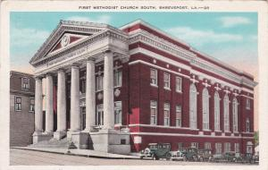 SHREVEPORT, LOUISIANA, 1910s-20s; First Methodist Church South