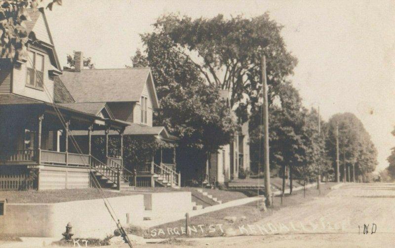 RP: KENDALLVILLE , Indiana , 1900-10s ; Sargant Street