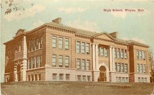 NE, Wayne, Nebraska, High School