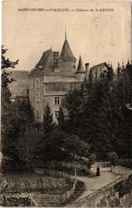 CPA St-GEOIRE-en-VALDAINE - Chateau de St-GEOIRE (392094)