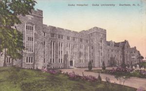 DURHAM , North Carolina , 00-10s ; DUKE University , Duke Hospital