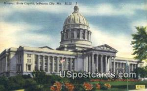 Missouri State Capitol Jefferson City MO 1956