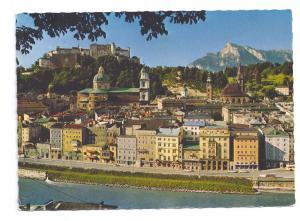 Austria Festspielstadt Salzburg mit Unterberg 1972 Postcard