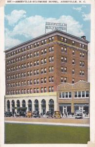 ASHEVILLE, North Carolina; Asheville-Biltmore Hotel, 1900-10s