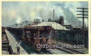 The Pittsburgh And Lake Erie Railroad Company Trains, Railroads Postcard Post...