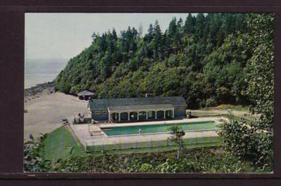 Swimming Pool, Fundy National Park NB chrome colour PC