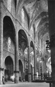Spain Palma de Mallorca Interior de la Catedral, Cathedral Interior view Dom