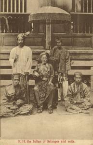 Sultan Alauddin Sulaiman Shah of Selangor, Malay Malaysia, Straits Settlements