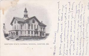 Maine Castine Eastern State Normal School 1909