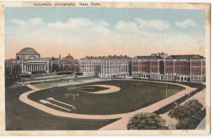 Columbia University, New York, unused Postcard