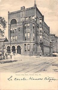 Mo., Kansas City, Kansas City Club, railway 1906