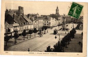 CPA REIMS - Place Drouet d'Erlon (245221)