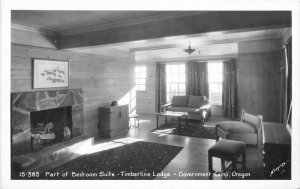 Bedroom Suite Timberline Government Lodge Oregon Sawyers Photo Postcard 12881