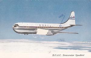 B.O.A.C. Boeing Stratocruiser Airplane , PU-1958