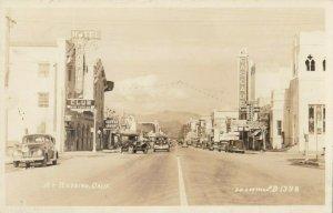 RP: REDDING , California , 1944 ; Street ; J-H-EASTMAN  B-1398