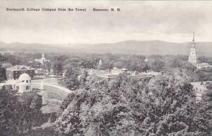 New Hampshire Hanover Campus From The Tower Dartmouth College Albertype
