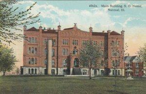 NORMAL , Illinois , 1900-10s; Main Building, S. O. Home