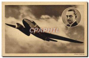 Old Postcard Jet Aviation Jet Renault Caudron Goeland Arnoux
