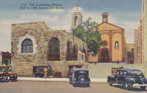 Old Guadalupe Mission, Juarez, Old Mexico, 30-40s