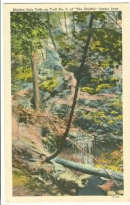 USA, Maiden Hair Falls on Trail No. 3 at The Shades Scenic Park
