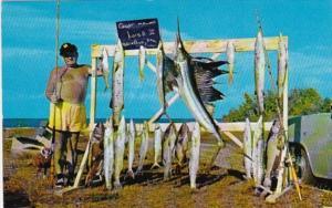 Florida Keys Marathon Fishing Day's Catch Fishing Boat Louis B II