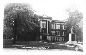 Sandusky Michigan Court House Real Photo Antique Postcard K64761