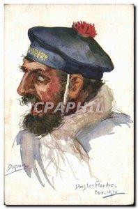 Old Postcard Fantasy Illustrator Dupuis Army Marin