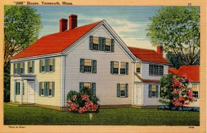 MA - Yarmouth, Cape Cod. 1680 House
