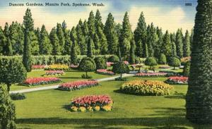 WA - Spokane, Duncan Gardens, Manito Park