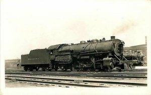 Railroad, Reading, Baldwin, Engine, 1704, W.R. Osborne, RPPC