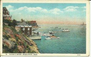 Marblehead, Mass., Tucker's Wharf