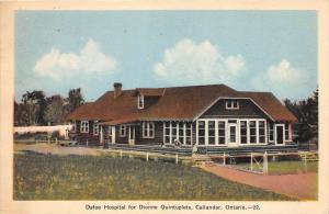 10059   Ontarion Callander   Dafoe Hospital for Dionne Quintuplets