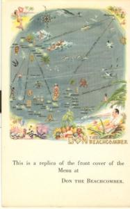 Don the Beachcomber, Restaurant, Hollywood, California, u...