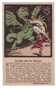 Jocelyn And The Dragon - Old Wells Stories No. 1 - postally unused