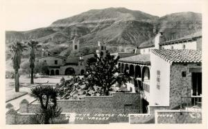 CA - Death Valley. Scotty's Castle and Guest House - RPPC
