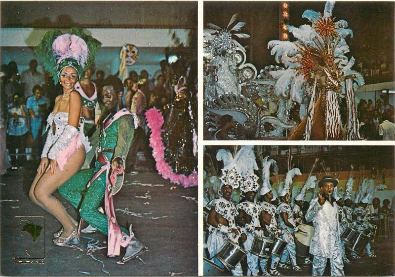 Brazil Rio de Janeiro Carnival Samba School multi views
