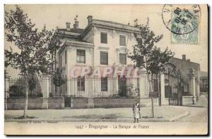 Postcard Former Bank of France Draguignan