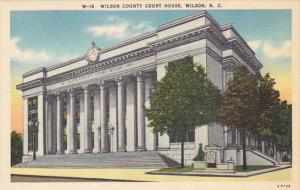 Wilson County Court House Wilson North Carolina
