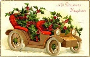 Greeting - Christmas     (creases)