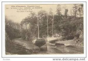 Boats on beach,Emerald Coast,Dinard-La Vicomte France,0