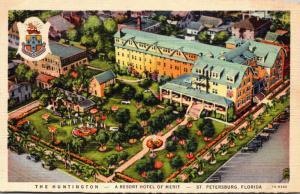 Florida St Petersburg The Huntington Hotel 1949 Curteich