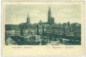 Hold-to-the-Light, Kleberplate, Strassburg